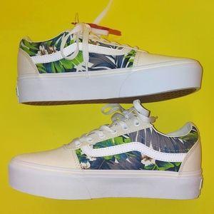 Vans Platform Ward Sneakers women's size 8